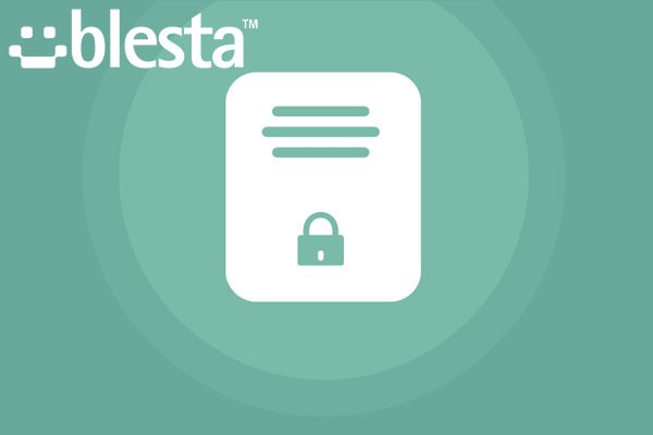 Blesta Privacy Policy