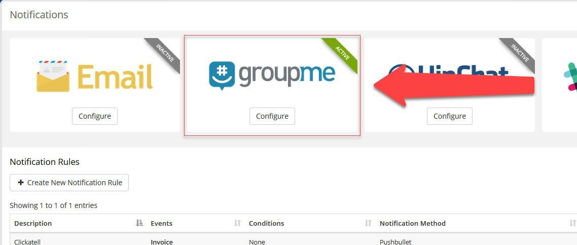 GroupMe Notifications Image 1