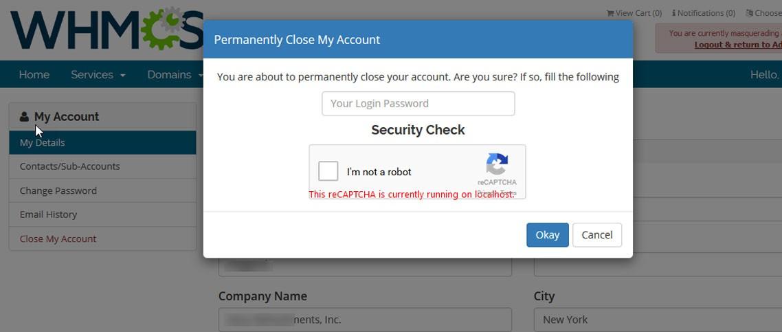 Delete/Close Account Image 2